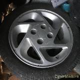 "Jantes ford escort RS Turbo 15"" com pneus"