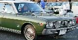 Nissan cedric pisca lateral